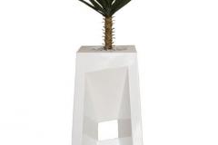 1m Yucca in Fibreglass Diagonal Urn