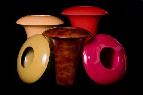 Large Mushroom Vases